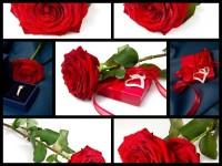 Рози и подарък за теб