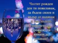 Честит рожден ден ти пожелавам, да бъдеш силен и мъдър се надявам и там, където повечето се провалят ти винаги да успяваш!
