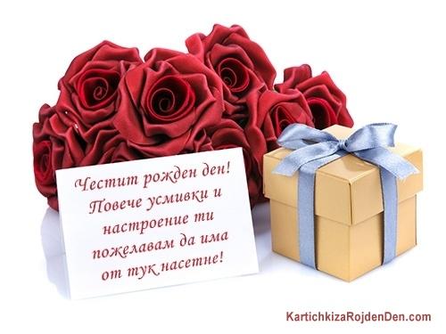 Честит рожден ден! Повече усмивки и настроение ти пожелавам да има от тук насетне!